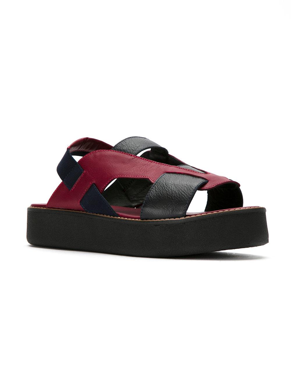 Cost leather sandals - Red Mara Mac Cheap Professional With Paypal Cheap Price Amazon Cheap Online Sale Discounts FFSg4z