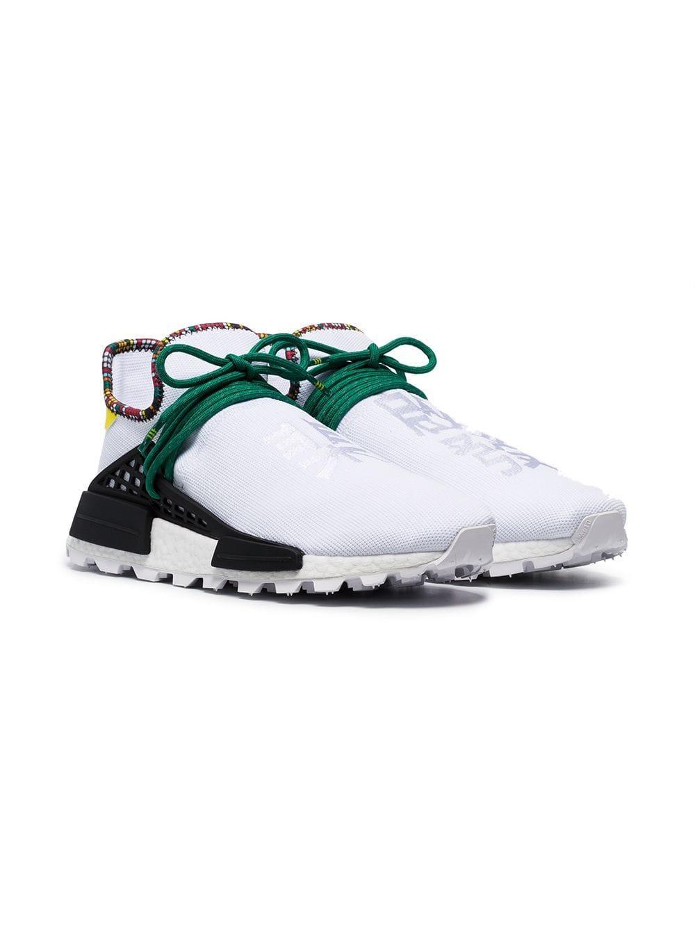 13e94cdb1 ... Pharrell Williams White Human Body Nmd Sneakers for Men - Lyst. View  fullscreen