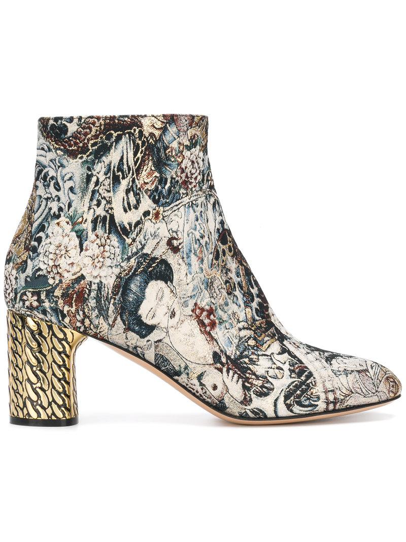 outlet factory outlet Casadei jacquard ankle boots cheap newest cheap sale latest collections JPnChva8jV