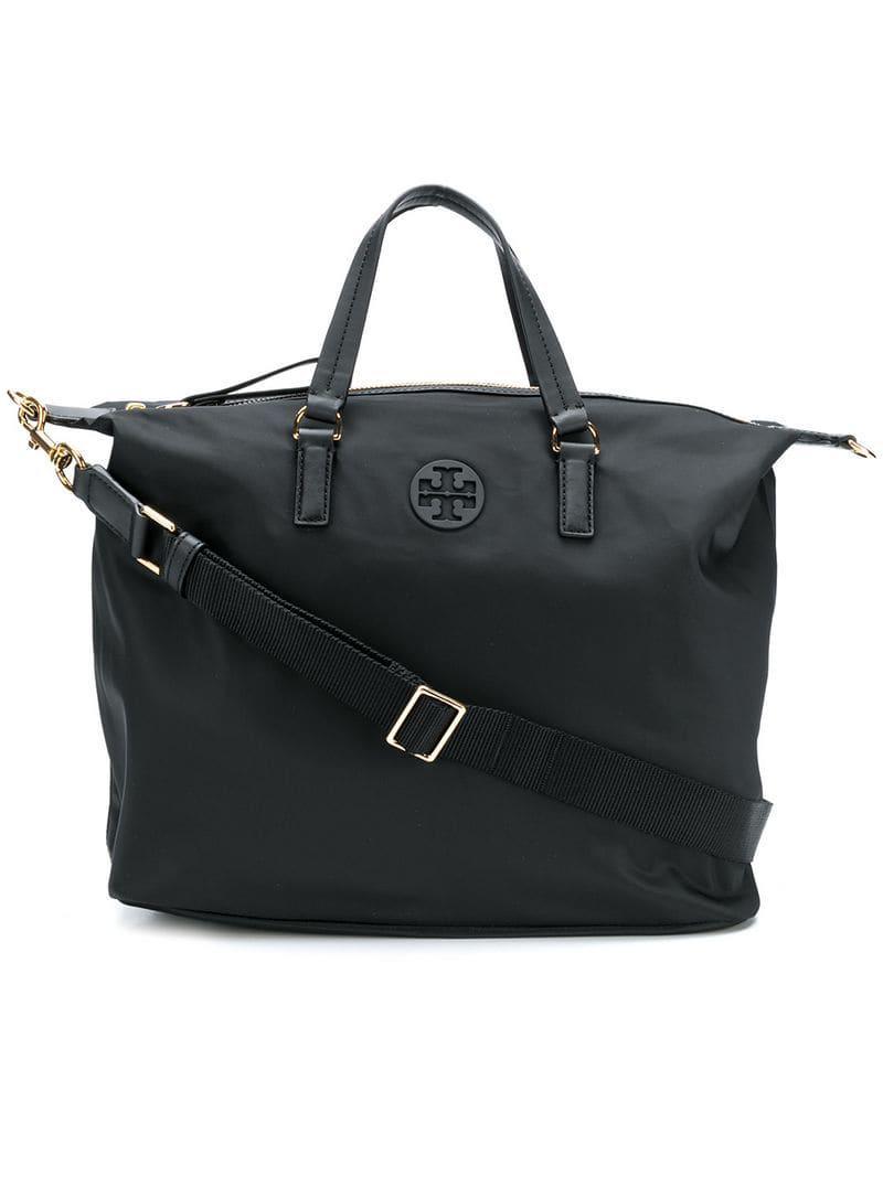 5655c49ab2 Tory Burch Tilda Slouchy Tote Bag in Black - Lyst