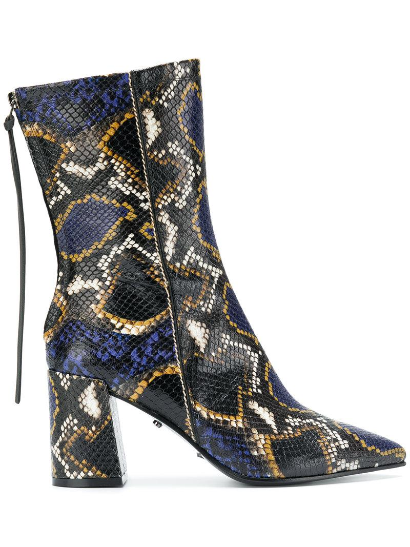 Dorothee Schumacher Snake effect boots Cheap Sale Browse Exclusive Online Cheap Fast Delivery wAM7oU