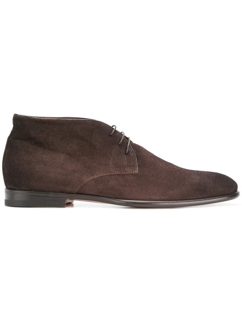best store to get online Santoni Men's Brown Suede Ankle... clearance find great buy cheap eastbay buy cheap great deals dPX3i