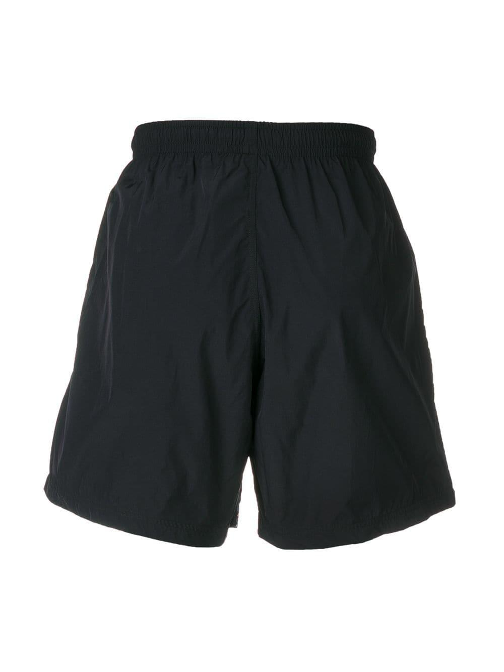 aa70940eac Lyst - Alexander McQueen Two-tone Swimming Shorts in Blue for Men