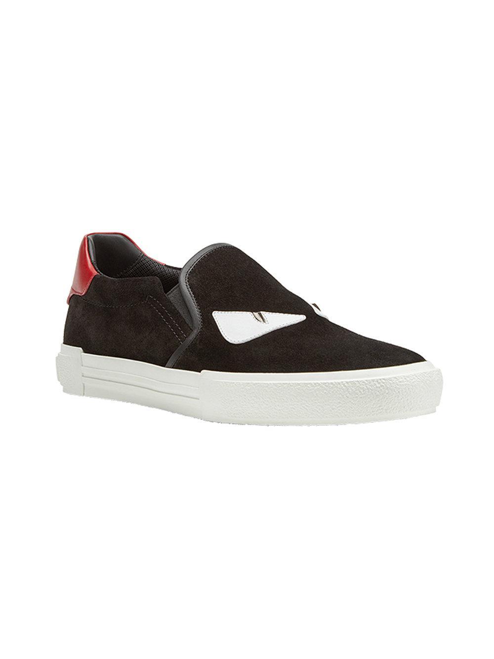Lyst - Chaussures de skate à appliqués Bag Bugs Fendi pour homme en ... 2c6d82b4261