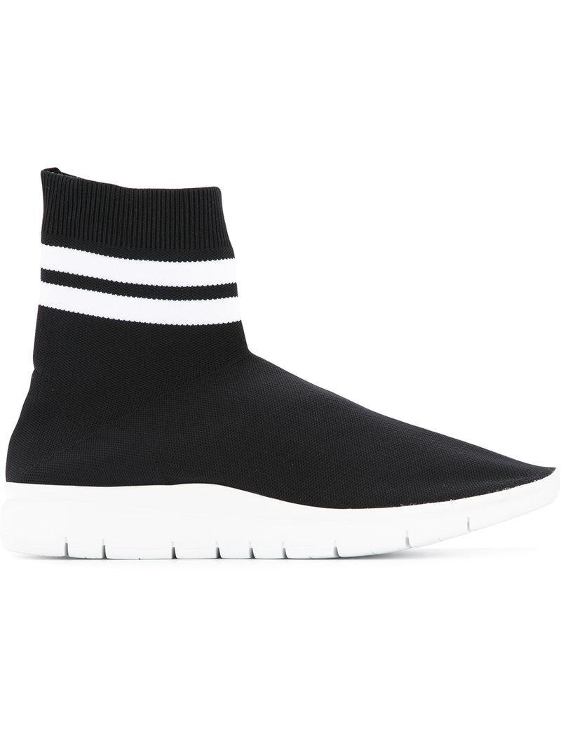 hi-top sock sneakers - Black Joshua Sanders LaeQplfclm