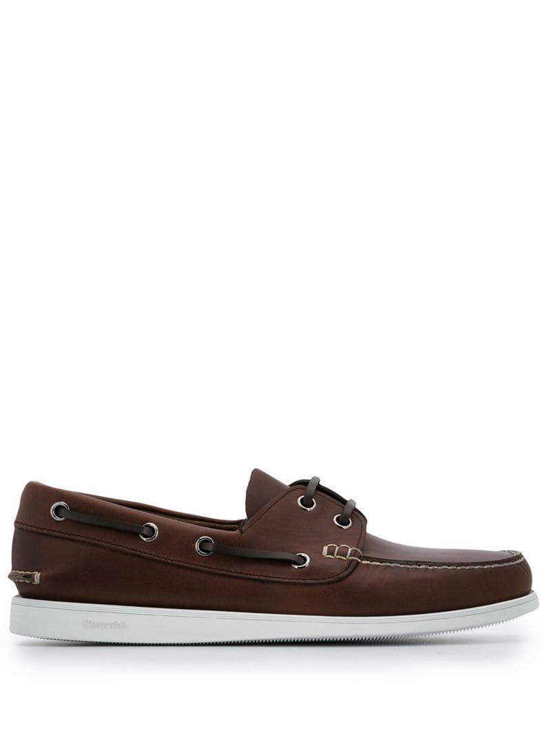d62bab26e56 Lyst - Church s Classic Boat Shoes in Brown for Men - Save 19%