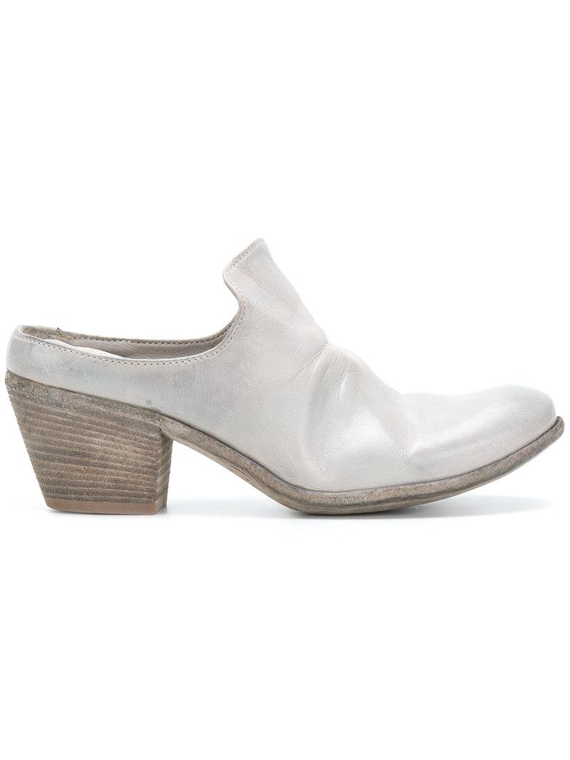Gray Giselle Officine Mules In Creative Lyst 6TOYx