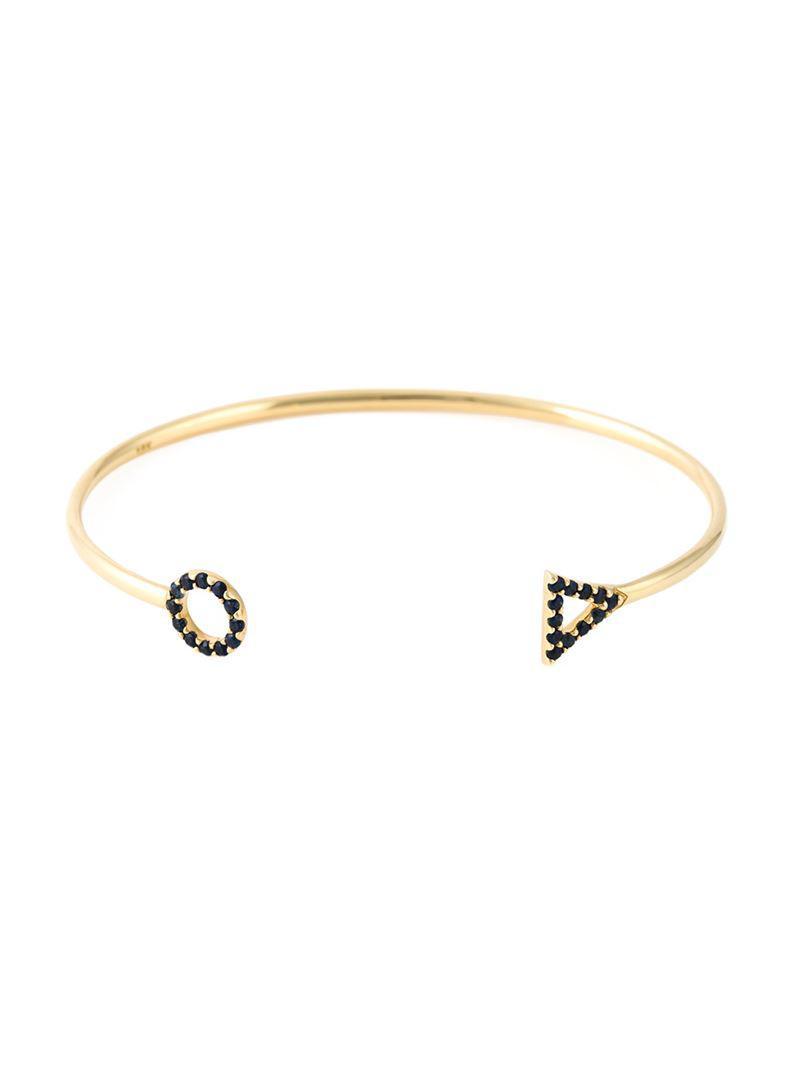 Eshvi January Garnet Bracelet z23Lb1s