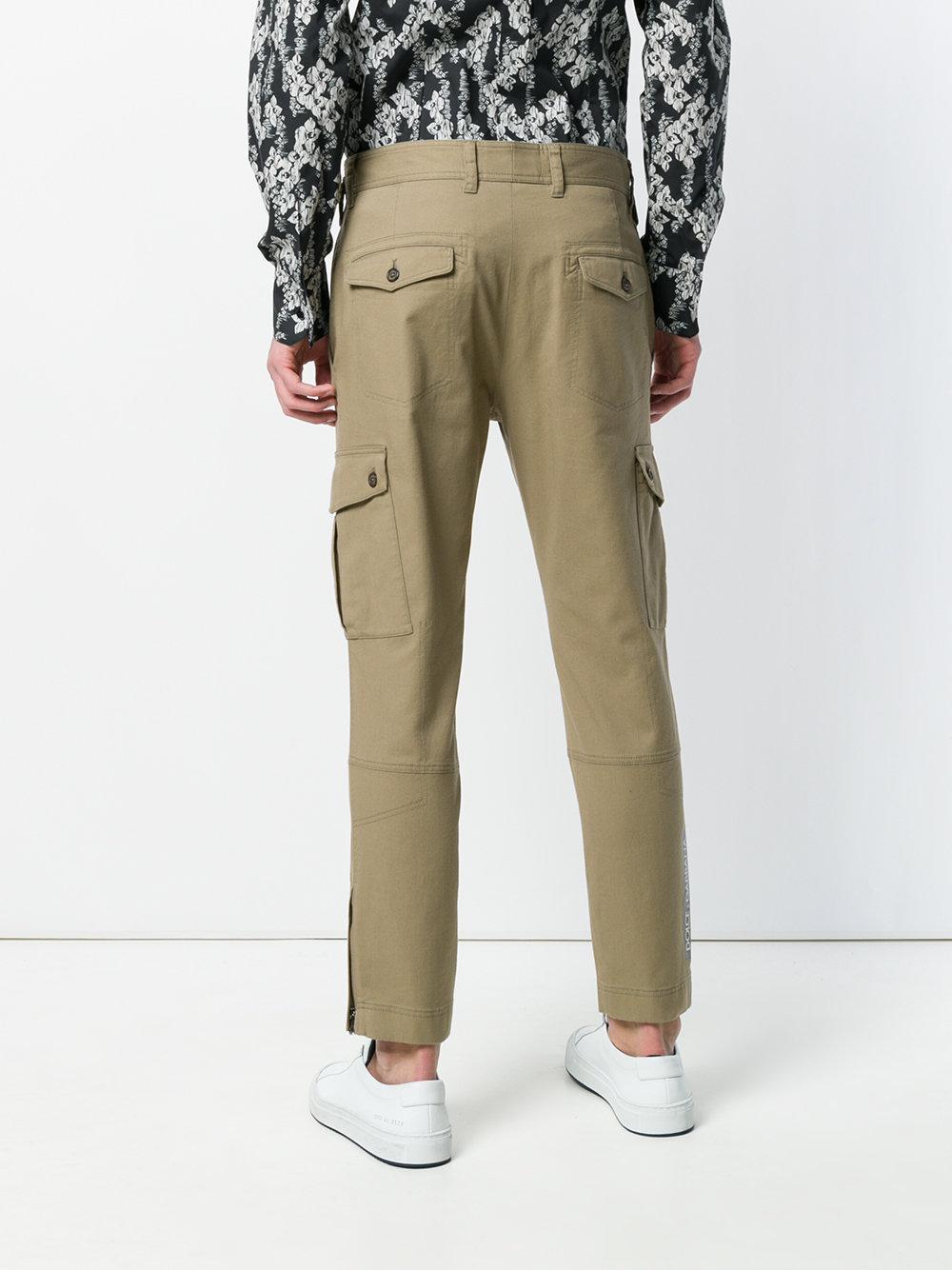 slim cargo trousers - Green Dolce & Gabbana cYrzV