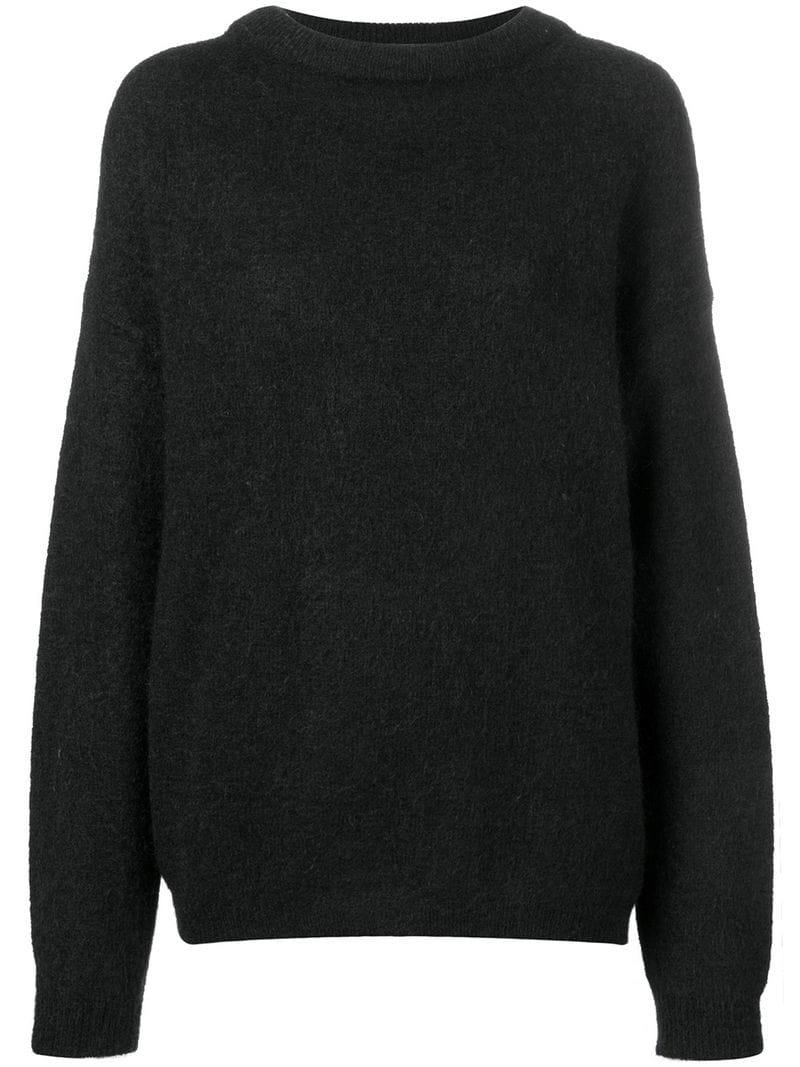 62c5e16d79ff Lyst - Acne Dramatic Oversized Sweater in Black
