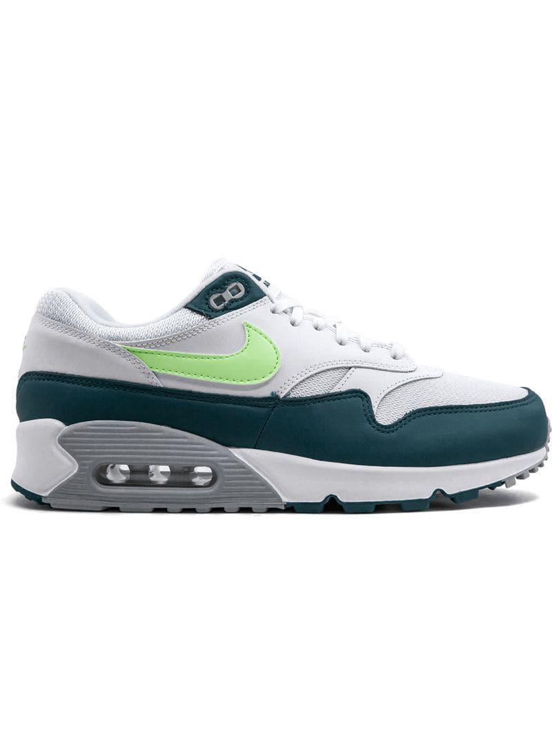 quality design aa3eb ee0cf Nike. Men s White Air Max 90 1 Sneakers
