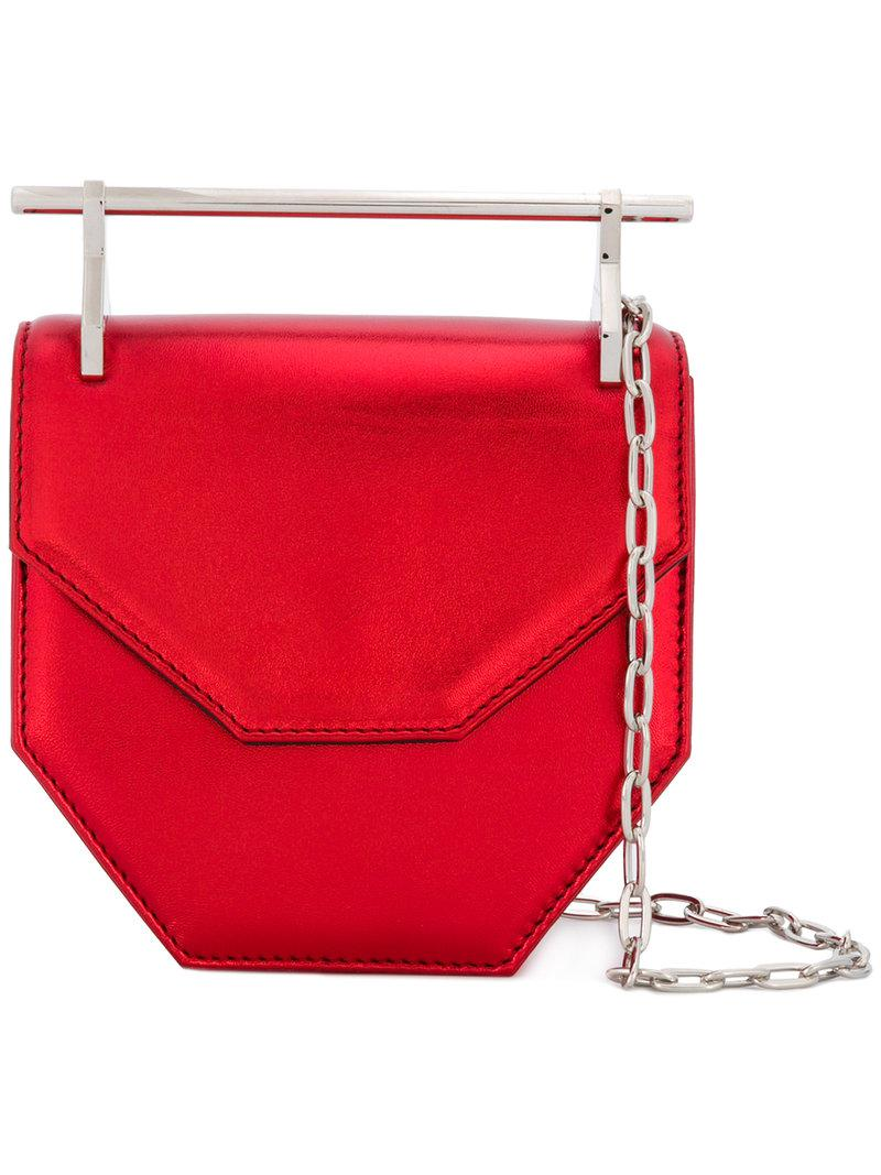 patent bag - Red M2malletier Outlet Collections Cheap Real Authentic nsmTDSPX