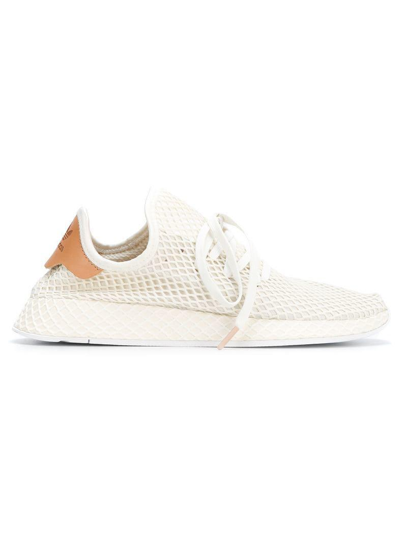 check out a184c efb36 adidas. Mens White Deerupt Runner Trainers