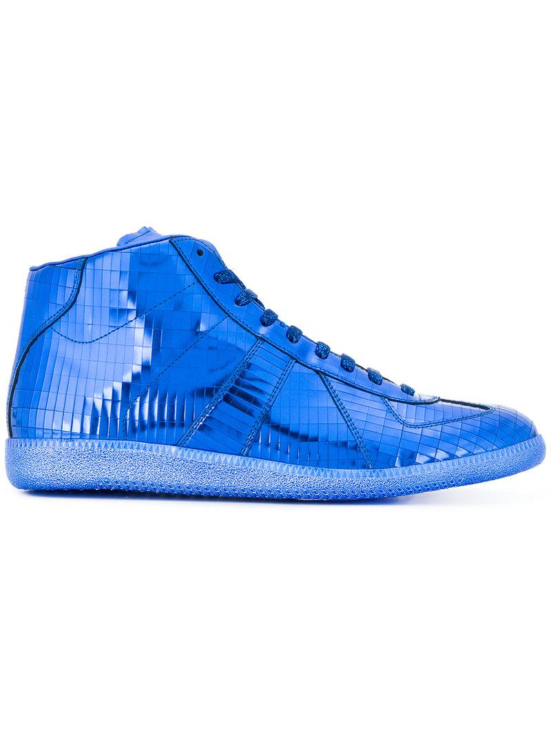 Replica hi-top sneakers - Blue Maison Martin Margiela 3yGtNWZrt