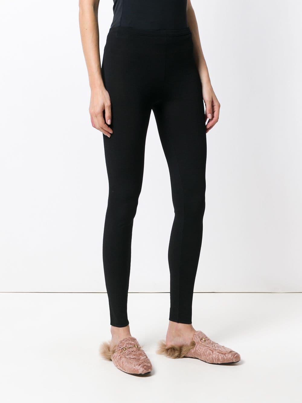 71b51fa7f0e1 Lyst - Valentino Vltn leggings in Black