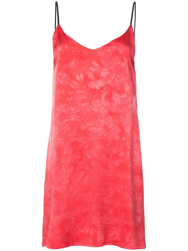 bffd4feed18d8 Amiri Tie Dye Slip Dress in Pink - Save 17.32283464566929% - Lyst