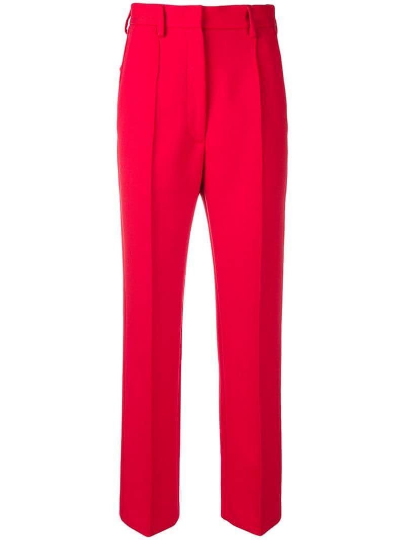 Lyst - Pantalones de talle alto Mm6 By Maison Martin Margiela de ... d1a7b217f21d
