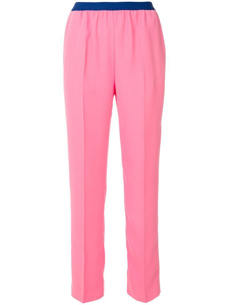 straight leg trousers - Pink & Purple Maison Martin Margiela Footlocker For Sale cGLVF