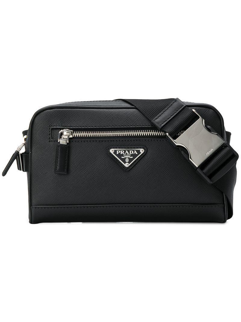 ba076852f686 Lyst - Prada Classic Sling Bag in Black for Men