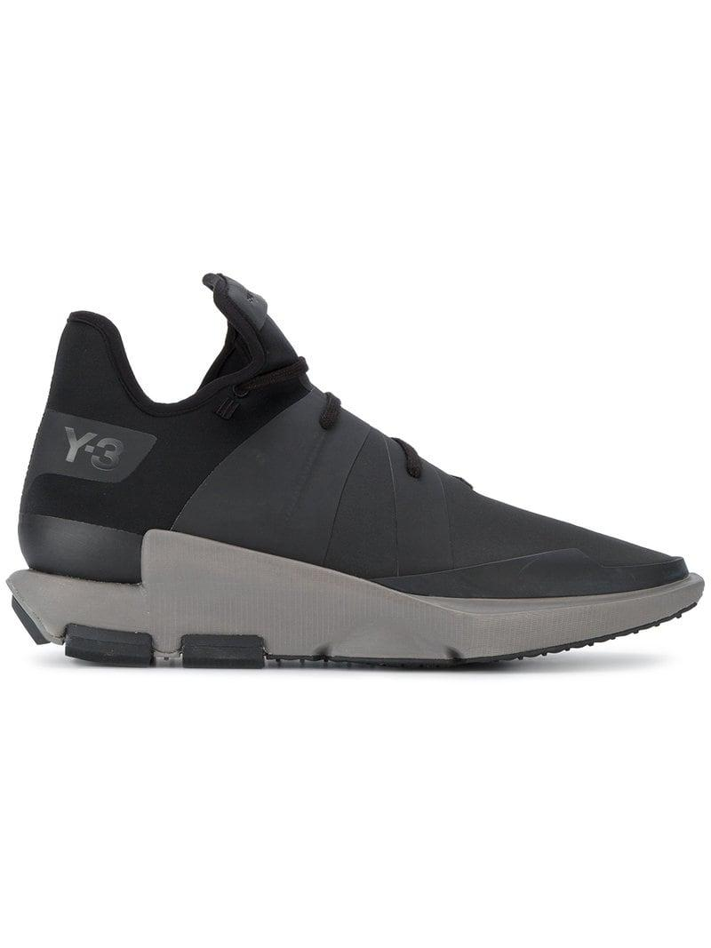 424fd83fb Lyst - Y-3 Noci Low Sneakers in Black for Men - Save 40%