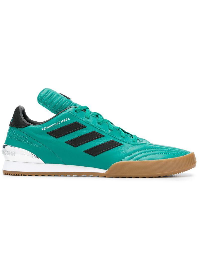 on sale 5912f 54b0b Gosha Rubchinskiy. Mens Green X Adidas Copa Wc Sneaker