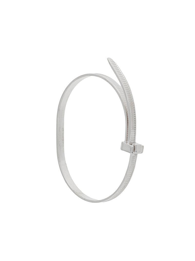 AMBUSH thin bracelet - Metallic vHcnR6