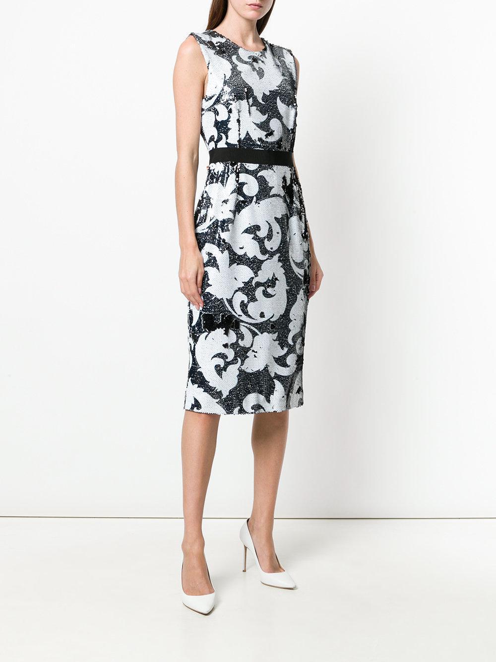 sequin pattern dress - Black Marco Bologna ClK1XdcPtO