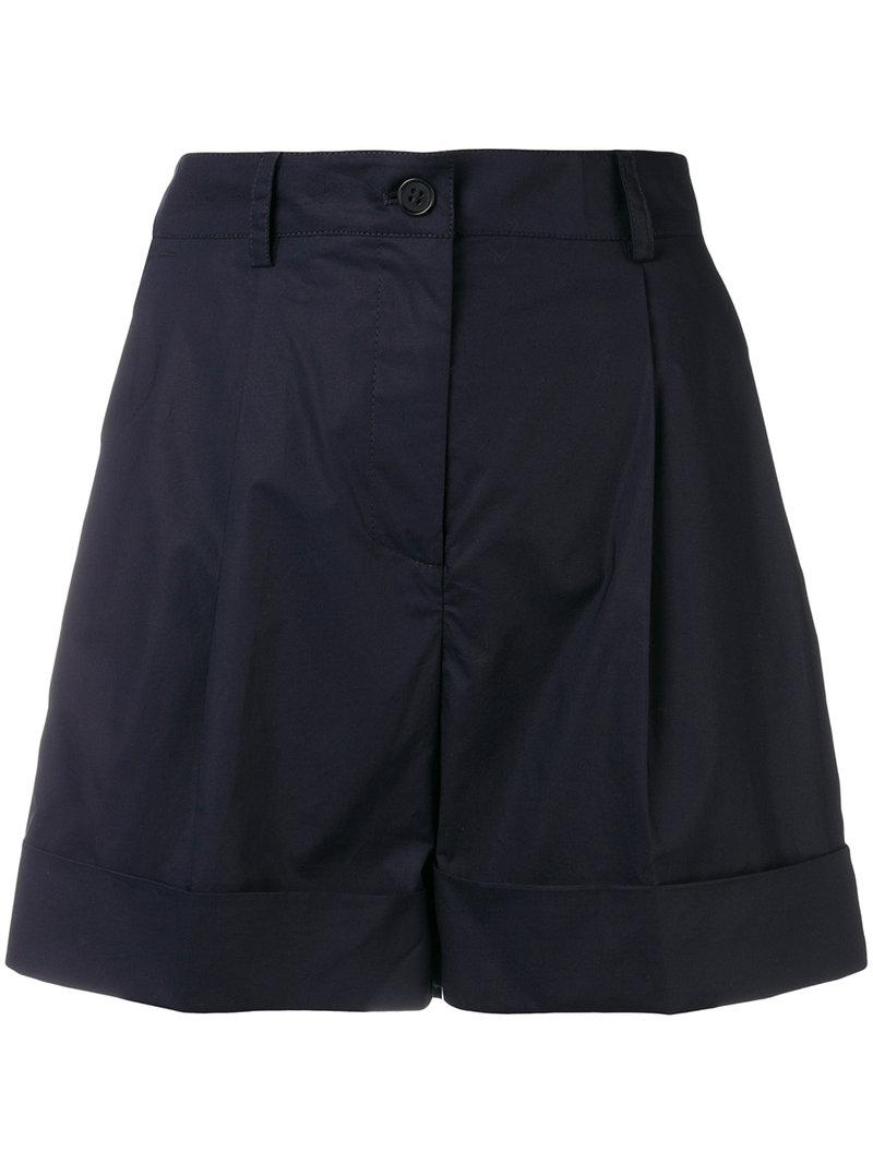 high-waisted side stripe shorts - Black P.A.R.O.S.H. Geniue Stockist Cheap Price Collections Sale Online Cheap Marketable Cheap Outlet Store 3afGI5