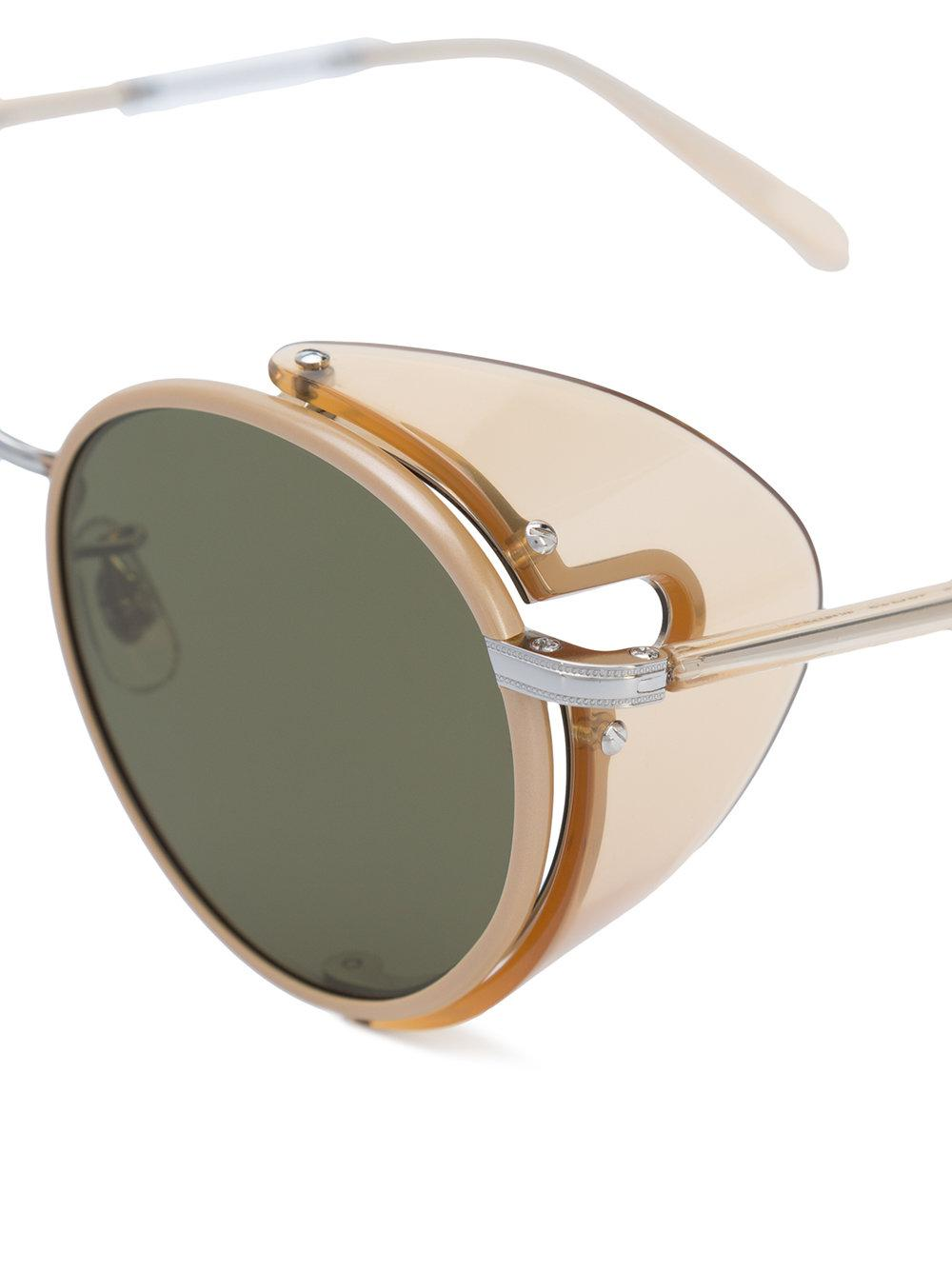 439aaca079 Garrett Leight - Green Wilson Sun Shield Sunglasses for Men - Lyst. View  fullscreen