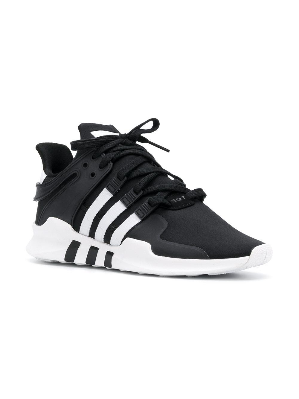 size 40 a6b40 87a06 Adidas - Black Eqt Support Adv Sneakers for Men - Lyst. View fullscreen