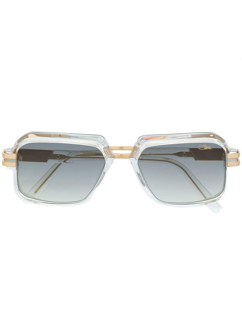 38b8dc873bf Cazal Oversized Frame Sunglasses in Metallic for Men - Lyst