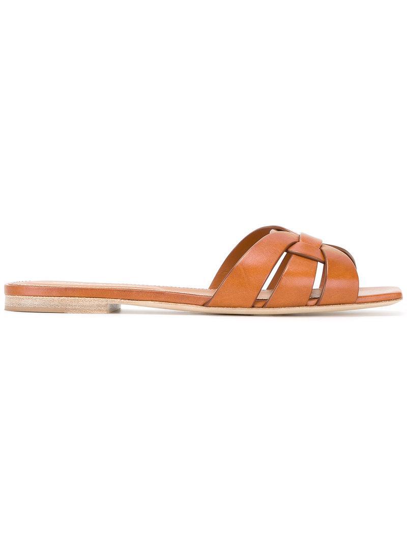 Saint Laurent Nu Pieds Sandals - Brown vcX7v7