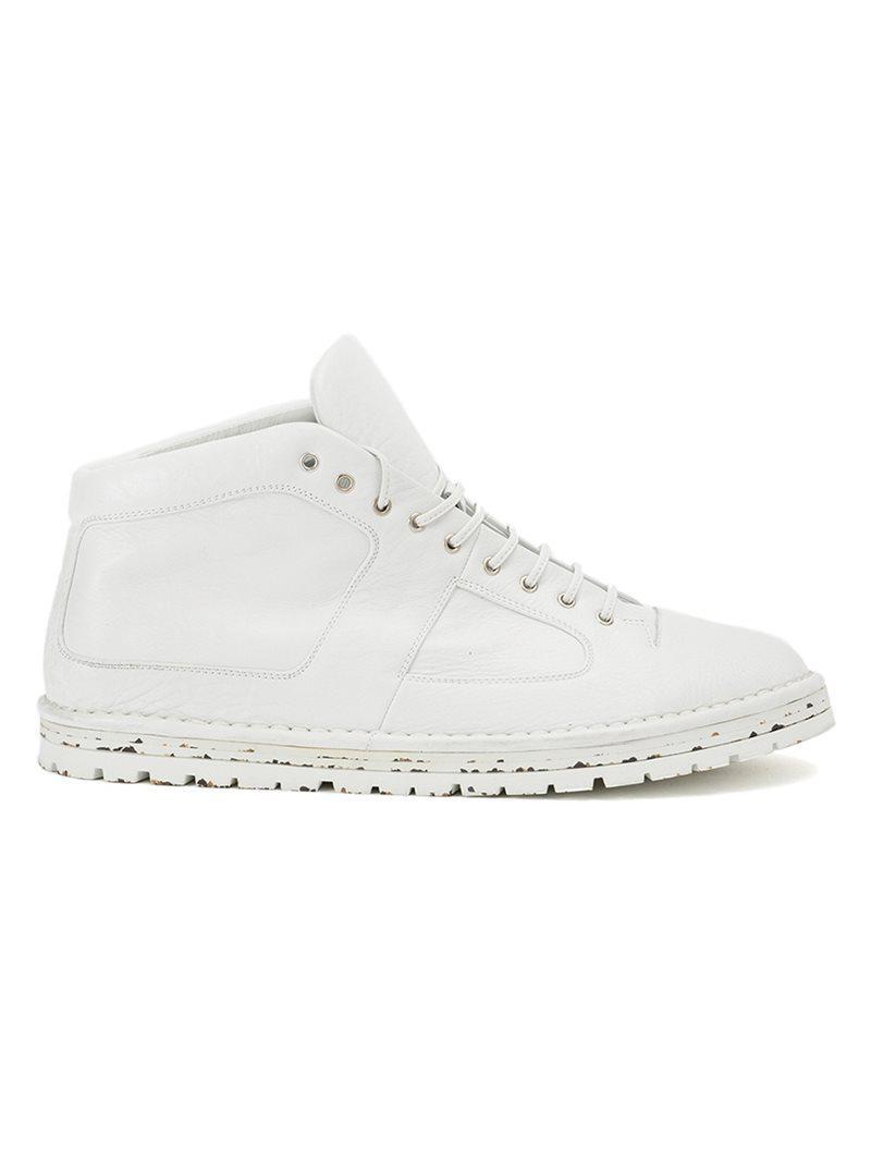 contrast sole sneakers - Black Marsèll HpNlpu