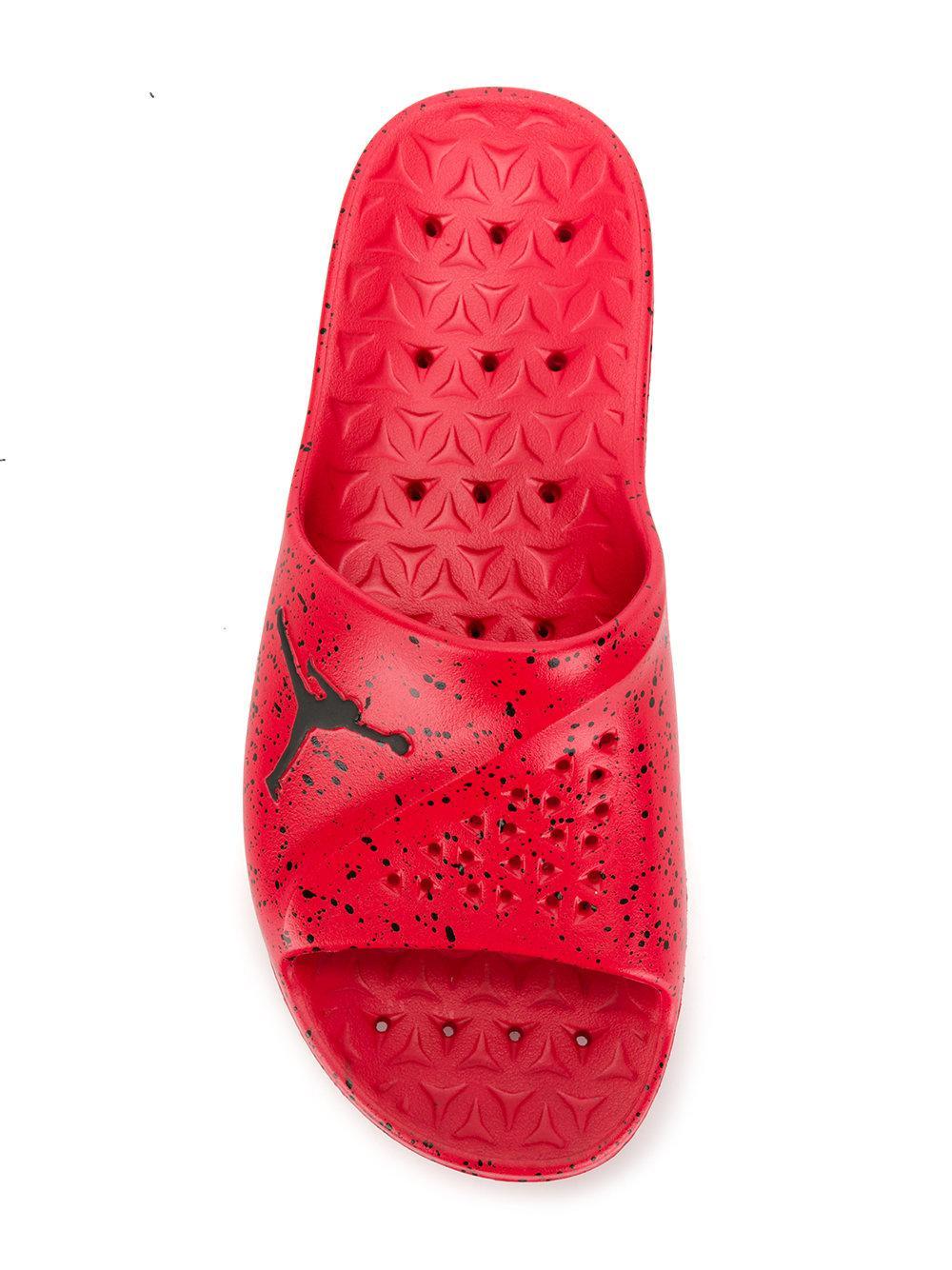 Nike Jordan Superfly Slides in Red for Men - Lyst 1ed152c6bce