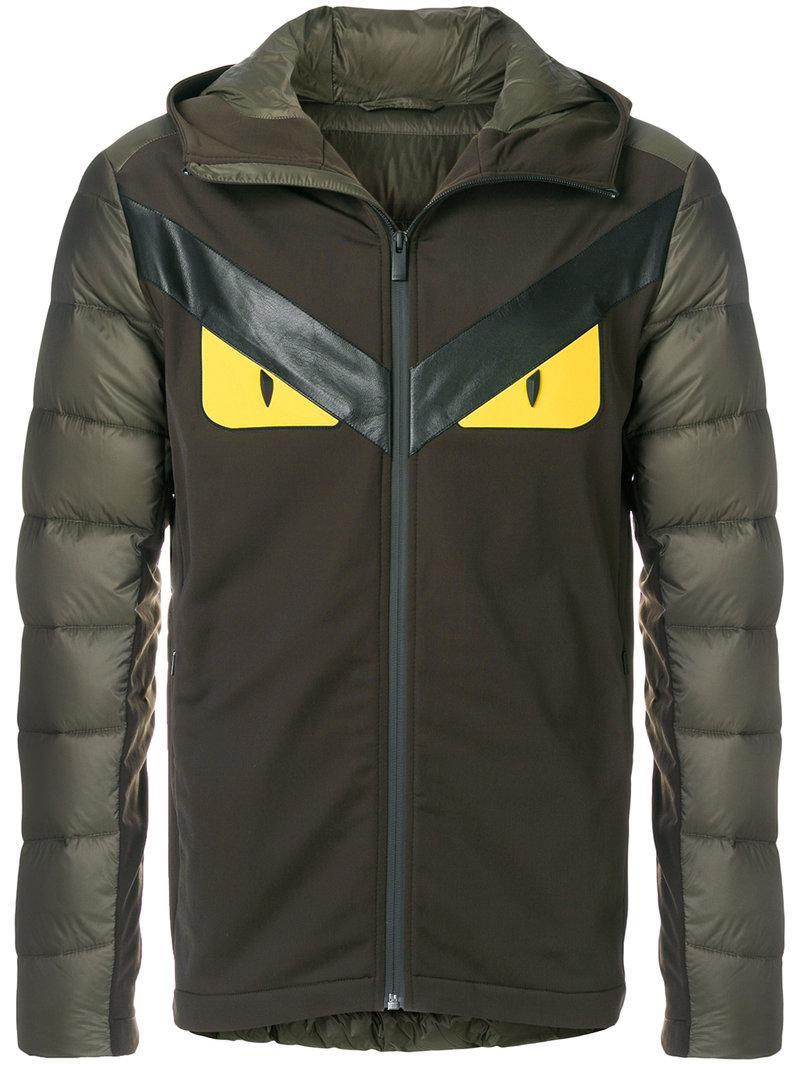 Lyst - Veste Bag Bugs Fendi pour homme en coloris Vert 39c9c715efb
