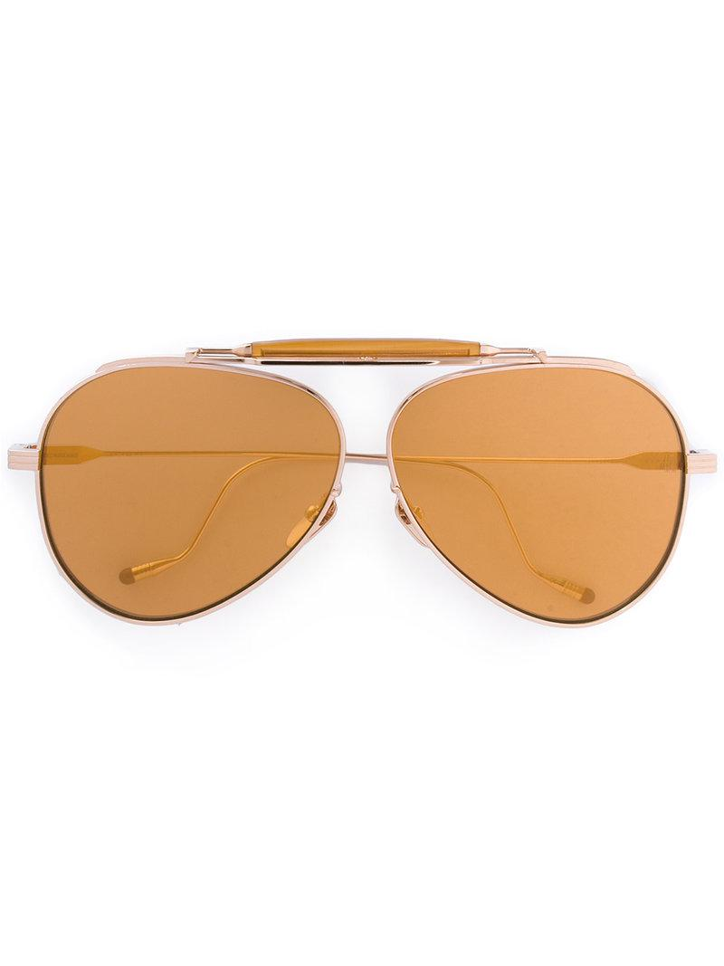 aviator sunglasses - Metallic Jacques Marie Mage iObSBc