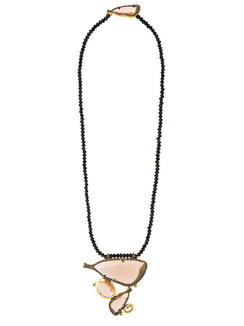 Camila Klein pendant necklace and choker set - Metallic gWhvPc
