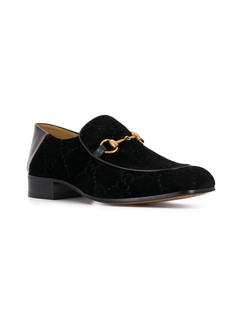 b03e88bb1 Lyst - Gucci Horsebit Loafers in Black for Men - Save 24%