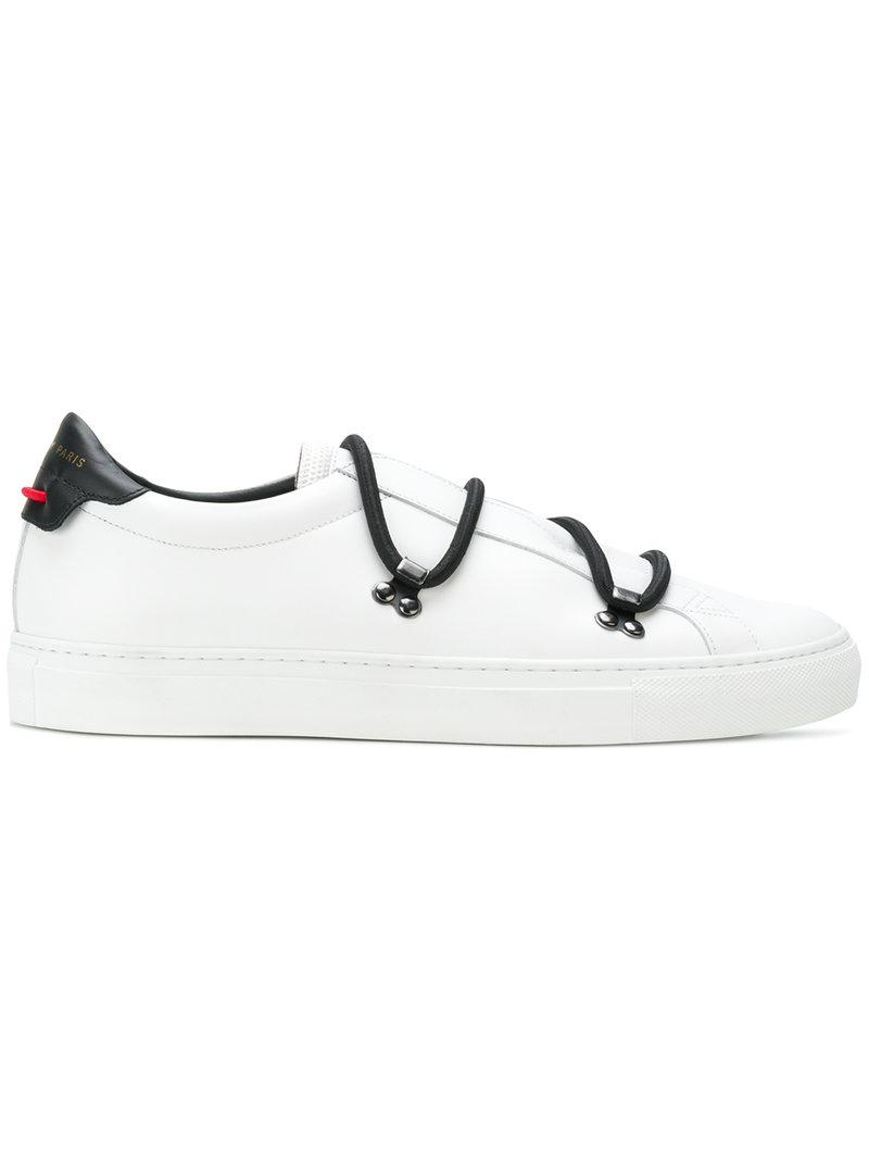 ee0db7036d450 Lyst - Givenchy Bicolour Matte Low Sneakers in White