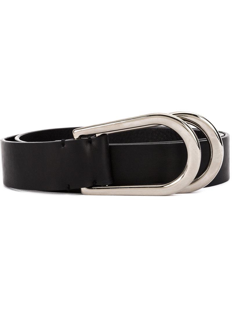 Self-tie leather belt Maison Martin Margiela WDPnr5e