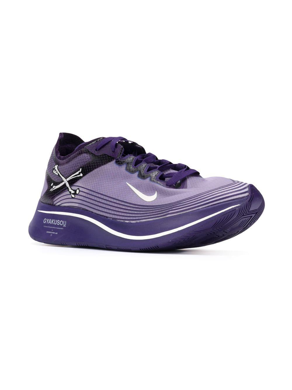341b319f56b16 Lyst - Nike X Undercover Gyakusou Zoom Fly Sp Sneakers in Purple for Men -  Save 25%
