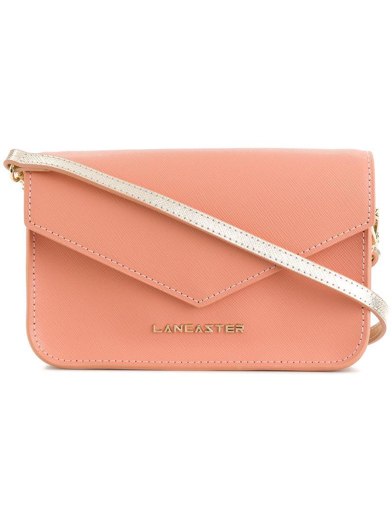 Sale Wide Range Of Lancaster foldover envelope shoulde rbag Purchase Online uNaHK