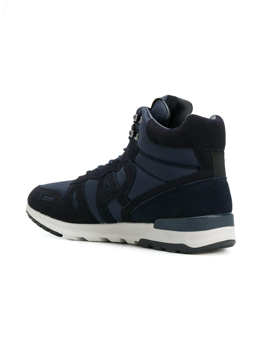 cheap sale collections choice for sale Armani Jeans contrast hi-top sneakers fashion Style cheap price free shipping fashion Style ih9HRN