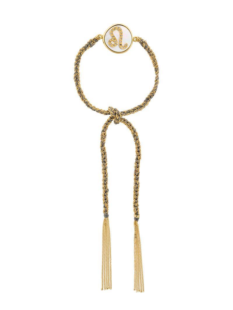 Carolina Bucci tassel bracelet - Metallic ZqLzDZK9