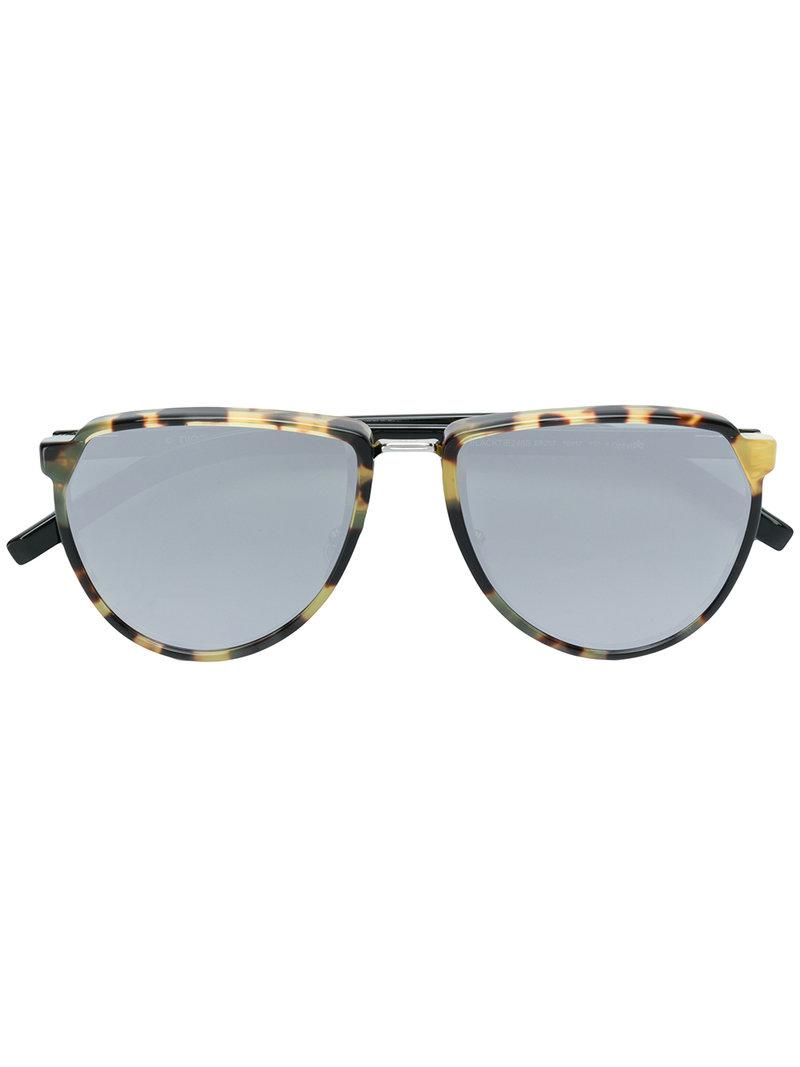 93acf60ad1 Dior Black Tie Sunglasses in Brown - Lyst