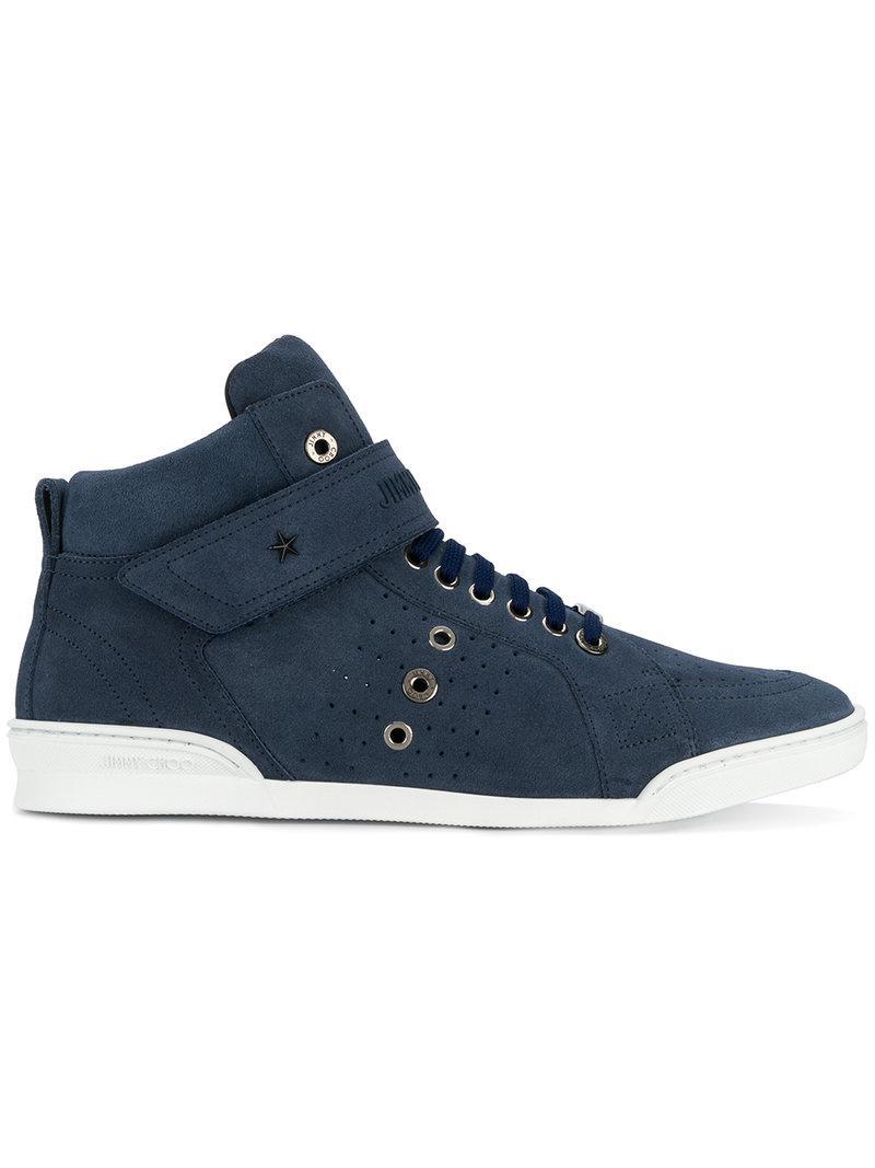 Taupe Suede Lewis High-Top Sneakers Jimmy Choo London 4VwDpO82ON