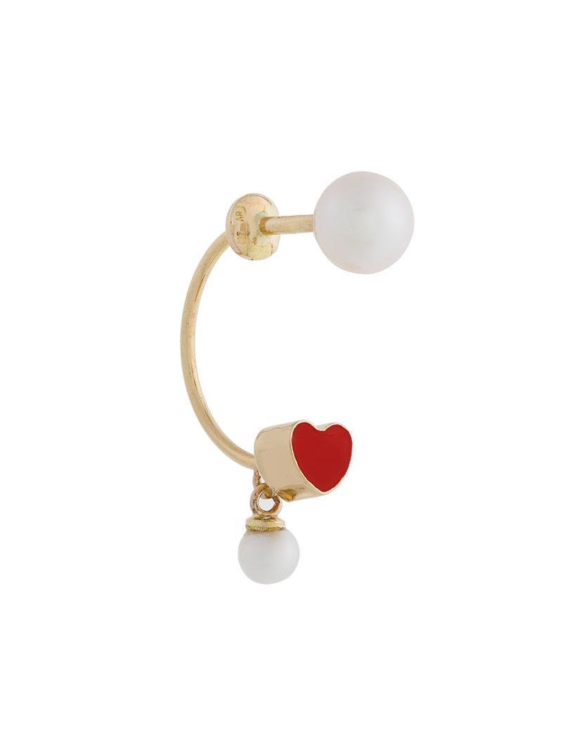 Delfina Delettrez Piercing earring - Metallic fhlx6lHamg