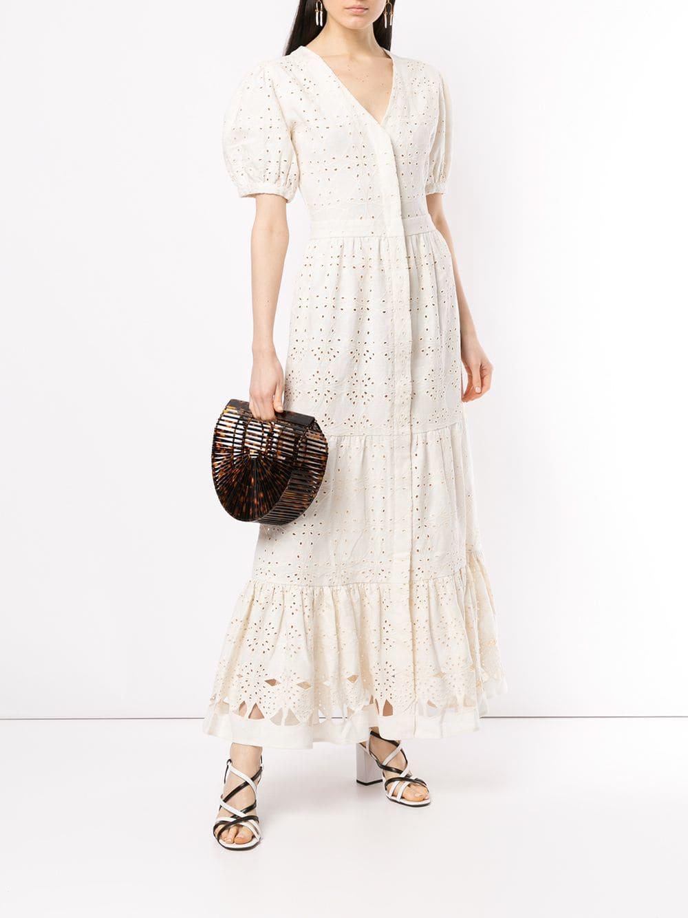 ec16de66d2 SIR Cherié Dress in White - Lyst