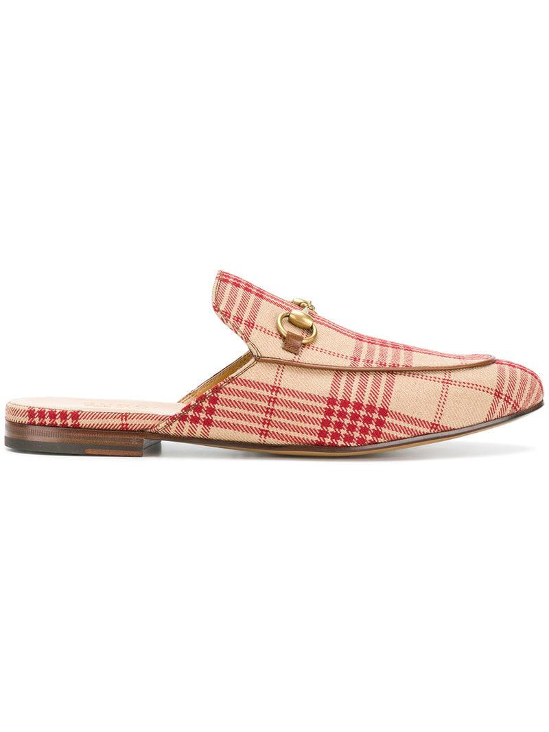 c15bf85d75a Gucci Princetown Slippers in Pink for Men - Lyst