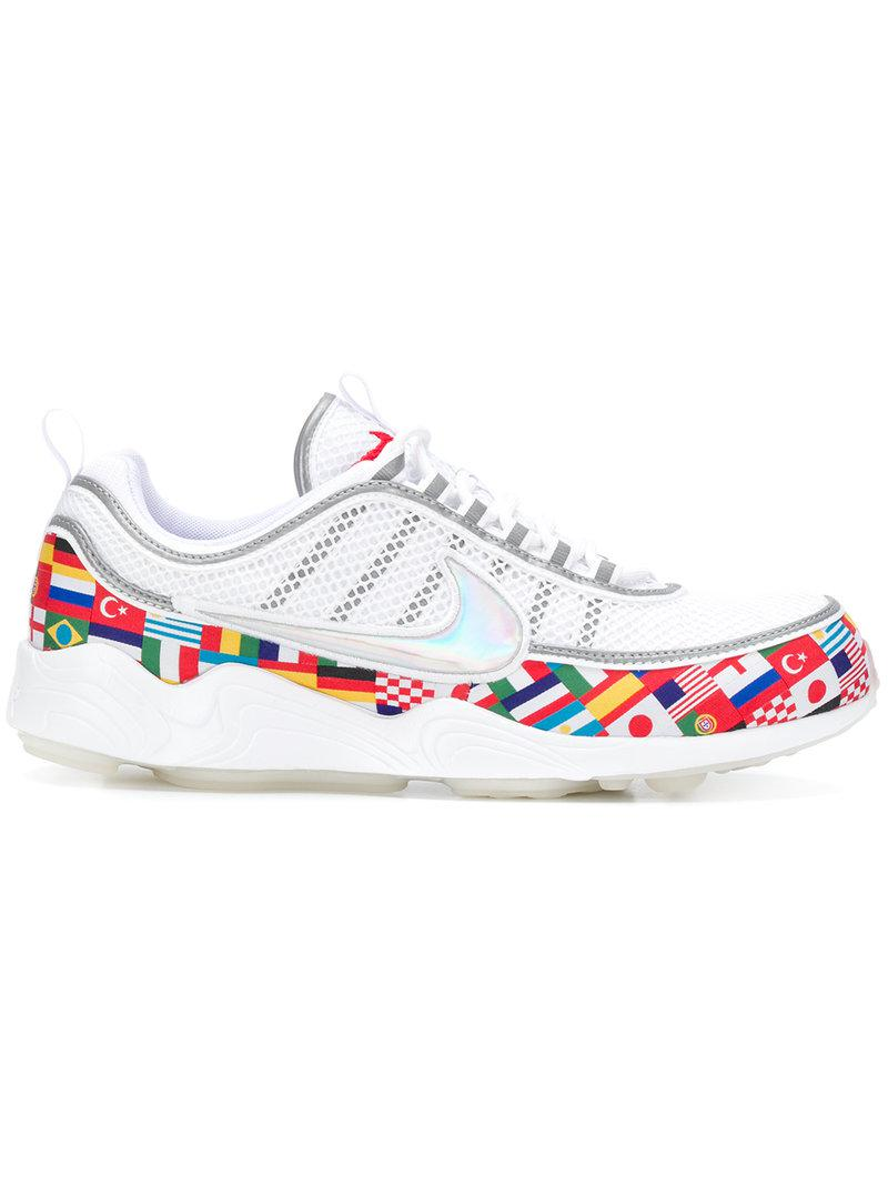 bfd5934b5c23 Nike Air Zoom Spiridon Sneakers in White for Men - Lyst